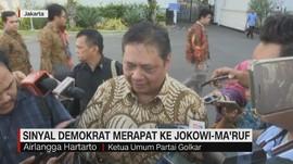 VIDEO: Sinyal Demokrat Merapat ke Jokowi-Ma'ruf