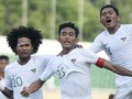 FOTO: Timnas Indonesia U-18 Ditahan Imbang Myanmar
