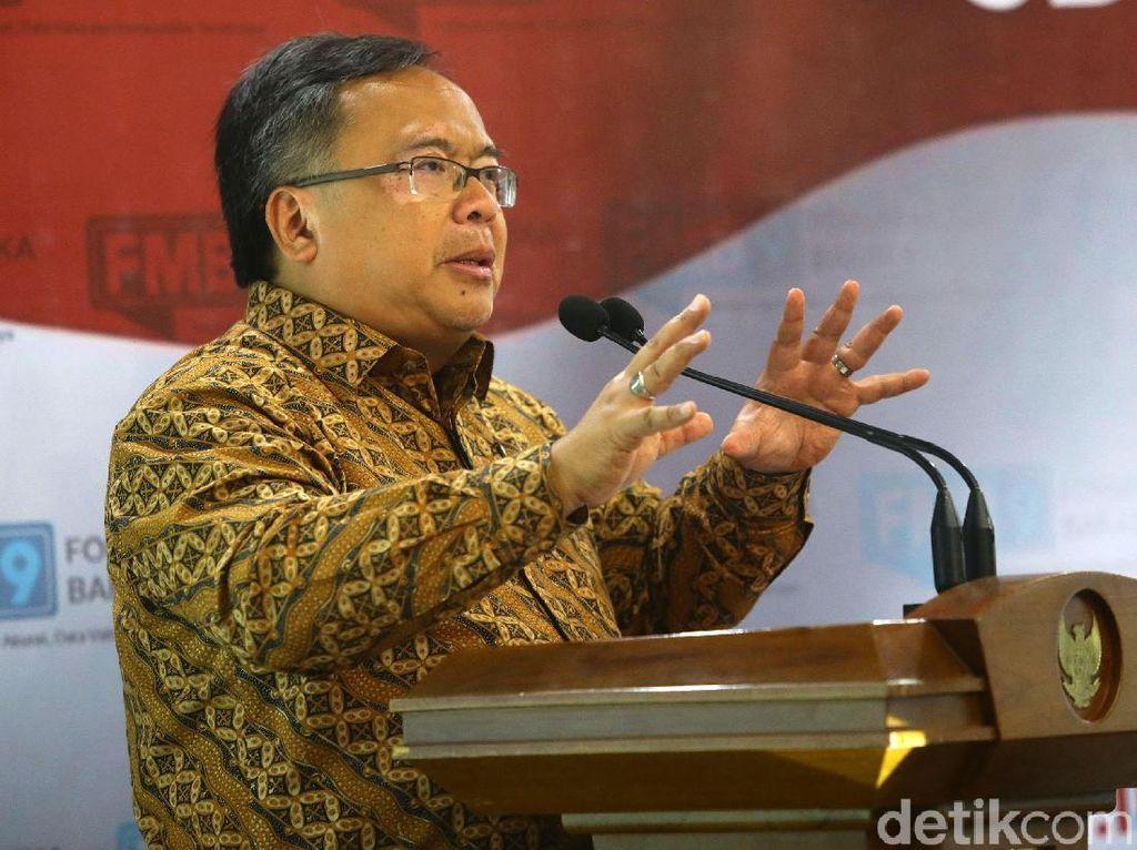 Kepala Bappenas Bambang Brodjonegoro mengatakan, salah satu cara mengembangkan SDM adalah meningkatkan kualitas manusia sebagai modal.