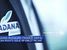 Galang Dana Rp 696,57 Miliar, Radana Finance Rights Issue
