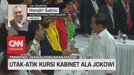 VIDEO: Utak-Atik Kursi Kabinet Ala Jokowi