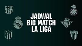 INFOGRAFIS: Jadwal <i>Big Match</i> La Liga