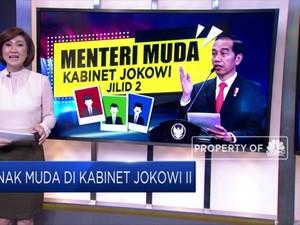 Kandidat Menteri Muda di Kabinet Jokowi II