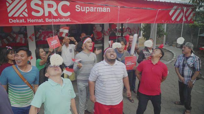 100.000 Toko Kelontong SRC Berusaha Pecahkan Rekor MURI