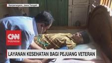 VIDEO: Layanan VIP Pada Pejuang Veteran,Rayakan HUT RI ke 74