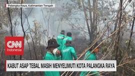 VIDEO: Kabut Asap Tebal Masih Menyelimuti Kota Palangka Raya