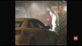 VIDEO: Usai Baku Tembak, Bandar Narkoba Philadelphia Menyerah