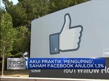 Akibat Ketahuan Kepo, Saham Facebook Anjlok!