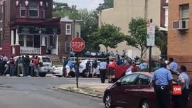 VIDEO: Polisi Philadelphia dan Bandar Narkoba Baku Tembak