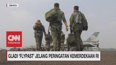 VIDEO: Gladi 'Flypast' Jelang Peringatan Kemerdekaan RI