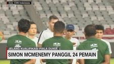 VIDEO: Simon McMenemy Panggil 24 Pemain
