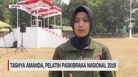 VIDEO: Ini Tashya Amanda, Pelatih Paskibraka Nasional 2019