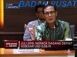 Neraca Dagang Juli 2019 Defisit USD 63,5 Juta
