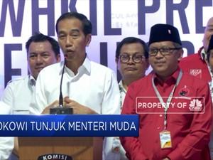 Presiden Jokowi Isyaratkan Tunjuk Menteri Milenial
