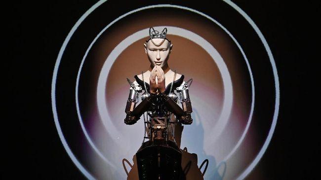 Kuil di Jepang Pakai Robot untuk Gaet Anak Muda