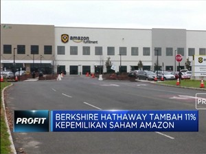 Berkshire Hathaway Tambah Kepemilikan Saham Amazon