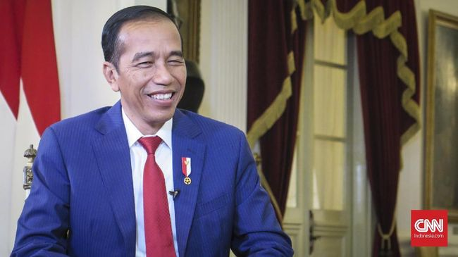 Presiden Jokowi, JK dan Ma'ruf Tiba di Sidang Tahunan MPR