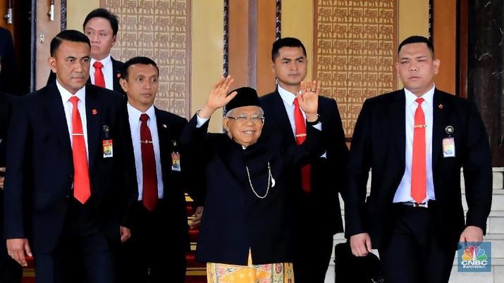 Hal itu dikatakan Kiai Ma'ruf saat menghadiri Silaturrahim Kerja Nasional Masyarakat Ekonomi Syariah di JCC Senayan, Jakarta, Jumat (15/11/2019).