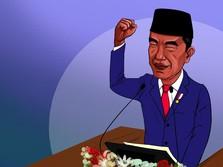 Ibu Kota Hingga Kecerdasan Buatan, Ini Pidato Jokowi