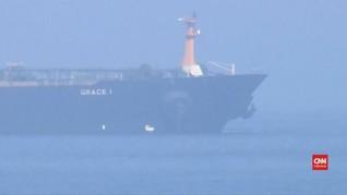 VIDEO: Inggris Lepaskan Kapal Tanker Milik Iran