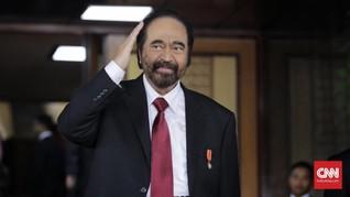 Surya Paloh Tak Persoalkan Gerindra Gabung Koalisi Jokowi