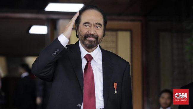 Surya Paloh: Jangan-jangan Hanya NasDem yang Bersama Presiden
