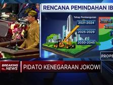 Di Hadapan MPR, Jokowi Pastikan Ibu Kota Pindah Ke Kalimantan