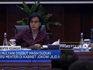 Sri Mulyani Kembali Masuk Jajaran Kabinet 2 Jokowi