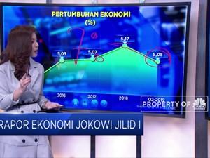 Rapor Ekonomi Jokowi Jilid I