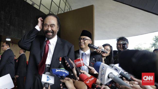 Surya Paloh: NasDem Belum Diajak Bicara Kabinet oleh Jokowi