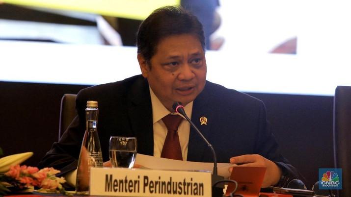 Menteri Perindustrian Airlangga Hartarto kini usul royalti batu bara dihapus untuk penggunaan proyek DME.