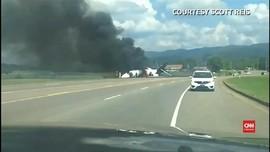 VIDEO: Eks Pebalap Mobil Nyaris Tewas dalam Kecelakaan Jet