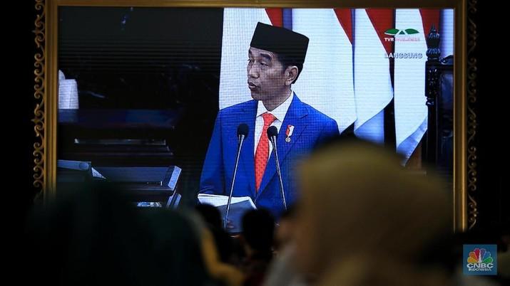 Jokowi optimistis Indonesia bisa segera membuat B100, yakni bensin yang berbahan dasar murni dengan gunakan minyak kelapa sawit