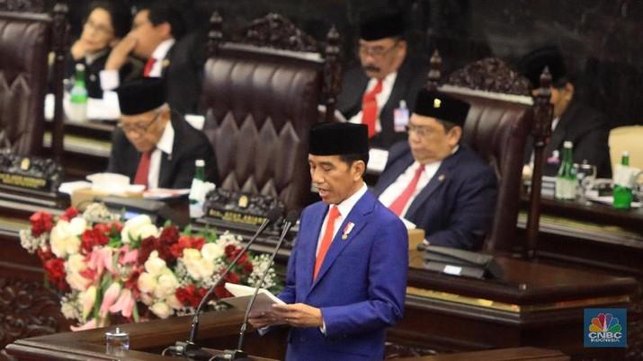 Pemerintah memproyeksikan belanja negara dalam RAPBN 2020 sebesar Rp 2.528,8 triliun.