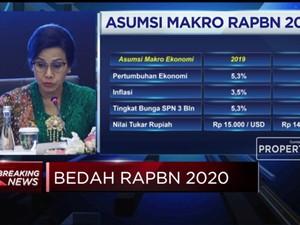 Sri Mulyani Paparkan Rincian RAPBN 2020