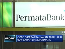 Diincar OCBC, Saham Bank Permata Berbalik Melemah