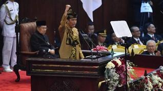 Pidato Lompatan Kemajuan, Jokowi Tanpa Beban ke Depan