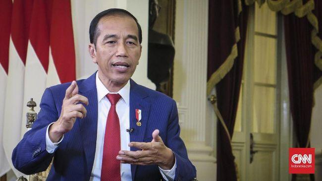 Jokowi Instruksikan Kapolri Tak Represif pada Demo Mahasiswa