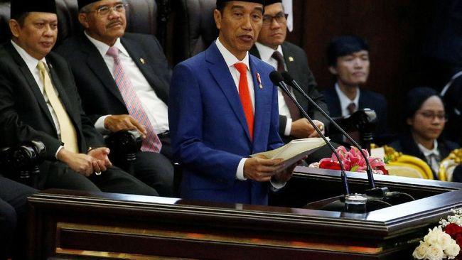 Jokowi: Ukuran Kinerja Penegak HAM dan Korupsi Harus Diubah