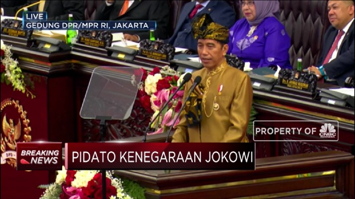 Dalam pidato kenegaraan dihadapan DPR, Jokowi banyak menyinggung soal penggunaan dan ancaman dari perkembangan teknologi.