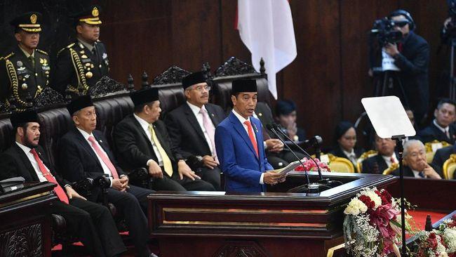 Target Laju Ekonomi Jokowi Mandek 5,3 Persen pada 2020
