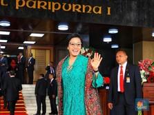 Disebut Jadi Menteri Lagi, Sri Mulyani Jawab Dengan Senyuman