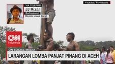 VDEO: Larangan Lomba Panjat Pinang di Aceh