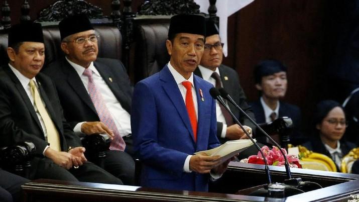 Presiden Jokowi telah menyampaikan pidato Rancangan Undang-Undang tentang APBN 2020 berserta Nota Keuangannya