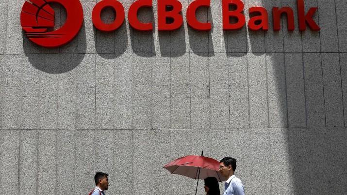 Harga saham Oversea-Chinese Banking Corporation Limited (OCBC Bank) di Bursa Singapura amblas.