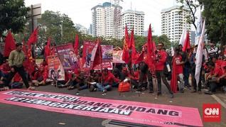 Revisi UU Ketenagakerjaan Dinilai Makin Beratkan Buruh