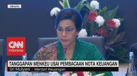 VIDEO: Sri Mulyani Tanggapi Pembacaan Nota Keuangan Jokowi