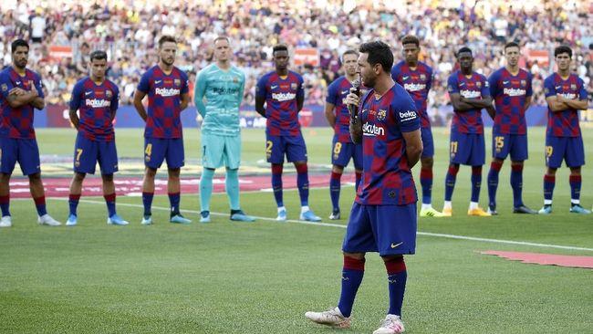 Messi Raja Liga Spanyol