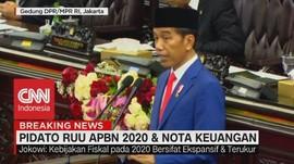 VIDEO: Ini Pidato Lengkap Jokowi di Nota Keuangan RAPBN 2020