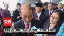 VIDEO: Kementerian ESDM Tanggapi Ekspor Avtur